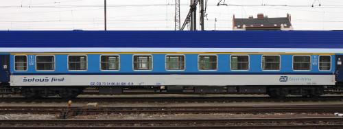 Vůz se představí 31. dubna 2015 na vlaku RJ 71 Gustav Mahler, kdy vezme šotouše z Prahy na Břeclavsko.
